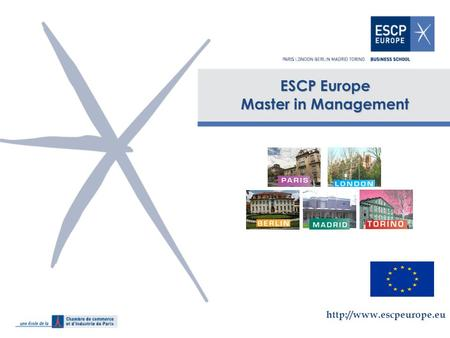 ESCP Europe Master in Management