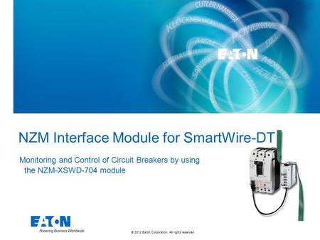 NZM Interface Module for SmartWire-DT