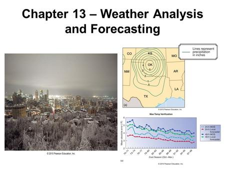 an analysis of weather forecasting Abstract weather forecasting has been one of the most challenging problems  around the world for more than half a century not only because of its practical.