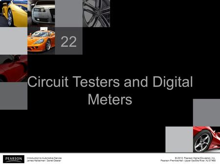 Circuit Testers and Digital Meters