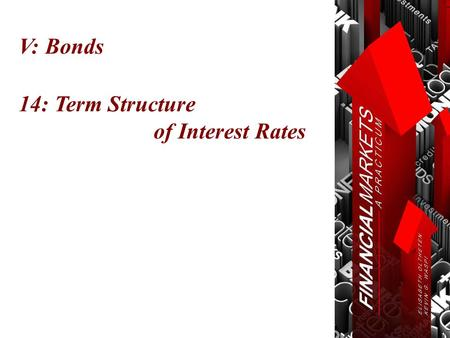 V: Bonds 14: Term Structure of Interest Rates. Chapter 14: Term Structure of Interest Rates Term Structure  $1000  (1 Year 3%  (2 Year 4%