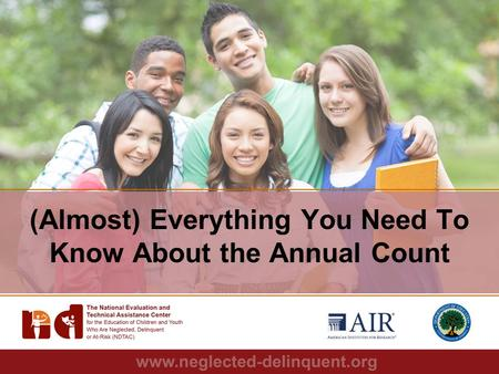 1 (Almost) Everything You Need To Know About the Annual Count.