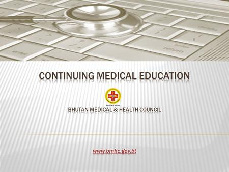 Definition: Continuing medical education (CME) refers to a specific form of continuing education (CE) that helps those in the medical and health field.