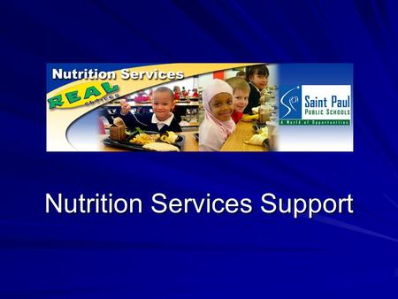 Nutrition Services Support. Vocabulary POS – Point of Sale (Alana or Old POS) Keypads - Ned or Fred SCMP – Revenue Control software or Kitchen PC. USB.