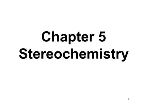 1 Chapter 5 Stereochemistry. 2 constitutional (structural) isomers and stereoisomers. Constitutional/structural isomers have different connectivity :