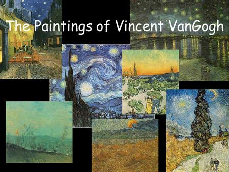 The Paintings of Vincent VanGogh. Starry Night over the Rhone, Arles September 1888. What the sky looked like on September 23, 1888 at 11:00 pm.