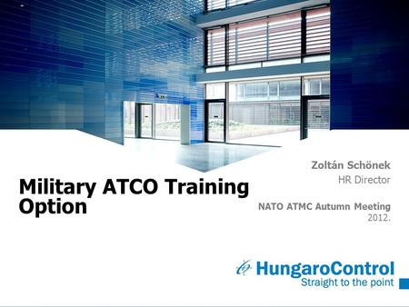 Military ATCO Training Option