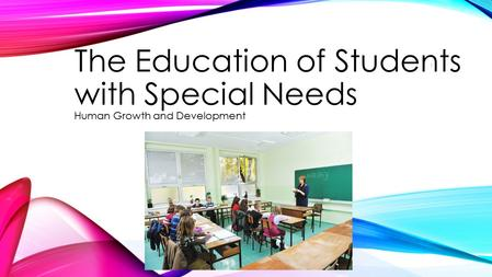 students with special needs in education