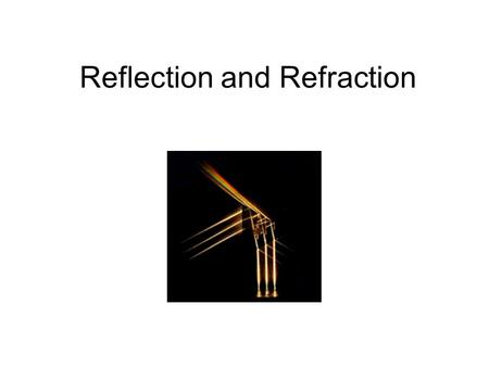 Reflection and Refraction. Plane wave A plane wave can be written as follows: Here A represent the E or B fields, q=i,r,t and j=x,y,z So this is a representation.