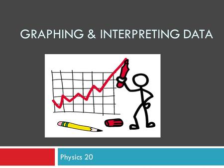 Graphing & Interpreting Data