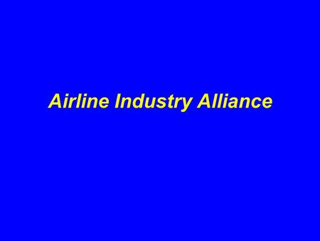Airline Industry Alliance. OSHA Programs What is an OSHA Alliance? Program created by OSHA to enable organizations committed to safety and health to collaborate.