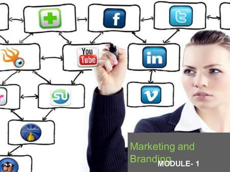 Marketing and Branding MODULE- 1. A medium that allows buyers and sellers of a specific good or service to interact in order to facilitate an exchange.