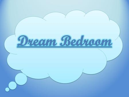 Did you ever dream of designing your own bedroom? Today we will begin with choosing items to go into your room.