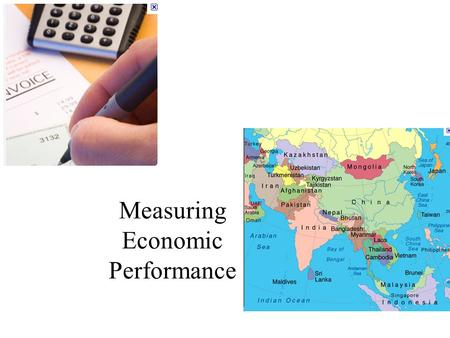 Measuring Economic Performance. Readings Lequiller François and Derek Blades, 2006, Under standing NATIONAL ACCOUNTS, Organization for Economic Cooperation.