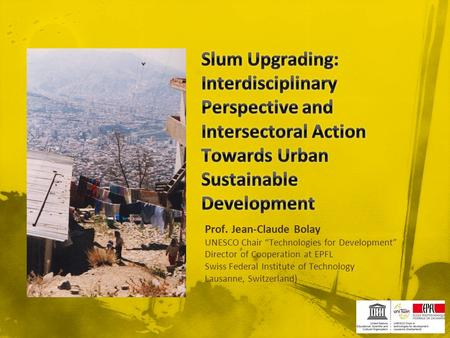 URBAN RENEWAL : HOW TO MAKE A COMPARISON BETWEEN DIFFERENT ...