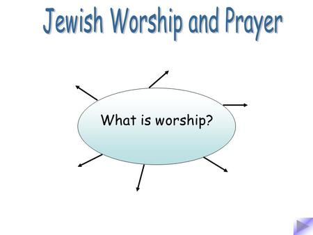 What is worship?. To show respect to someone or something.