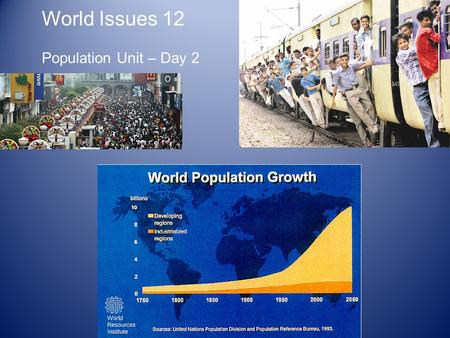 Population Problems Essay