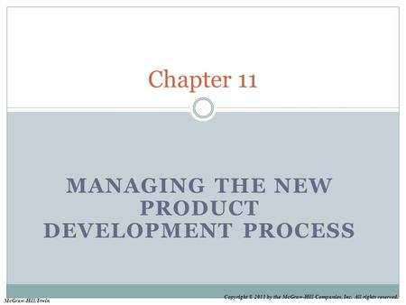 Managing the new product development process ppt download for Product development inc