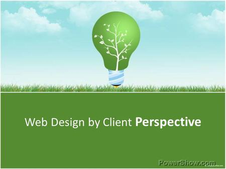 Web Design by Client Perspective. What is Web Designing? Web design is the skill of creating presentations of content (usually hypertext or hypermedia)