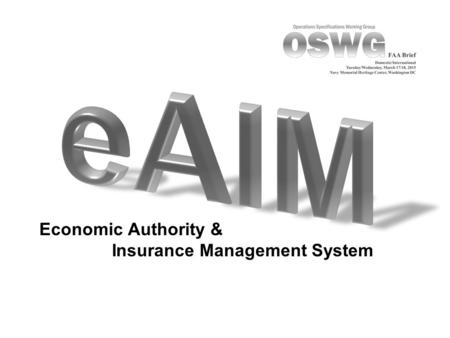 Economic Authority & Insurance Management System.