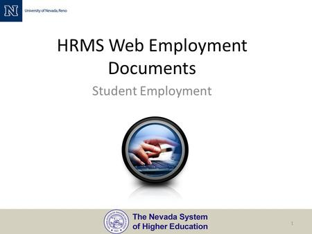 HRMS Web Employment Documents Student Employment 1.