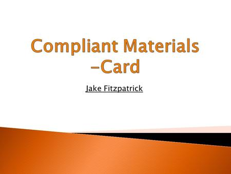 Jake Fitzpatrick. Carton Board The term carton-board covers a range of packaging materials from single layer card, for products such as cereal packaging.