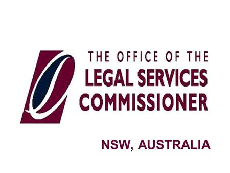 NSW, AUSTRALIA. INCORPORATED LEGAL PRACTICES (ILPs) CURRENT NUMBER OF ILPS: 900 (There are 811 ILPs currently practising in NSW. 81 ILPs are awaiting.