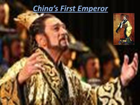 China's First Emperor. One of the things he did during his lifetime was unify China., He and his chief adviser Li Si passed a series of major reforms.