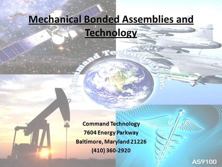 Mechanical <strong>Bonded</strong> Assemblies and Technology