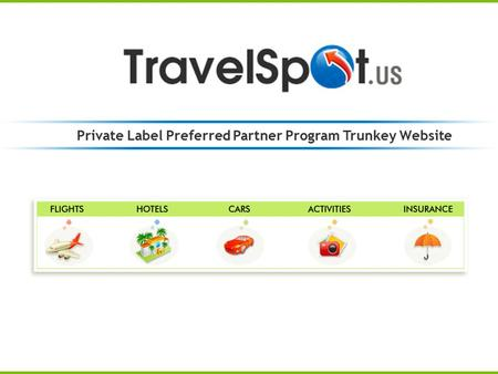 Private Label Preferred Partner Program Trunkey Website.