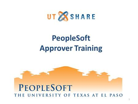 PeopleSoft Approver Training 1. Agenda PeopleSoft Logging on and Navigation Viewing Budgets Approving Pro Cards Approving using Interim Approval Processing.