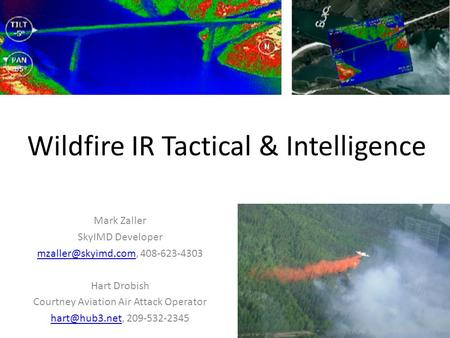 Wildfire IR Tactical & Intelligence