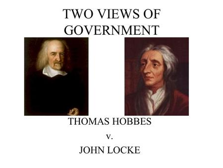 compare and contrast hobbes and locke essay Comparative essay of thomas hobbes and john locke philosophy essay i will compare john thomas hobbes and john locke's.