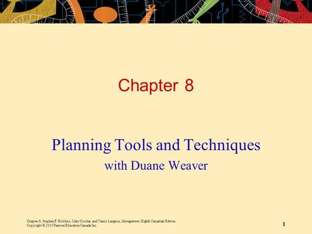 Planning Tools and Techniques with Duane Weaver