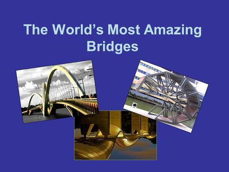 The World's Most Amazing Bridges. Pedestrian Bridge, Texas This beautiful arched bridge in Lake Austin was built by Miro Rivera Architects and is used.