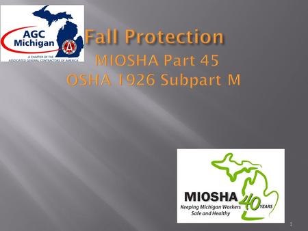 1.  Falls are the leading cause of death in construction  Falls from as little as 4 to 6 feet can cause serious lost-time accidents and sometimes death.