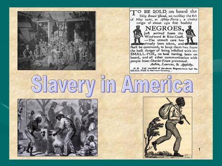 Slavery in american literature