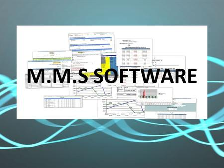M.M.S SOFTWARE. WHO WE ARE M.M.S is a group formed by professionals having hand on exposure of serving industry related to various issued like inventory.