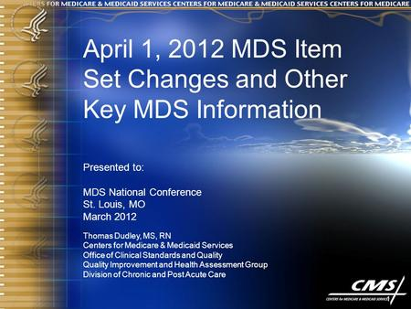 MDS National Conference