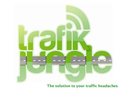 The solution to your traffic headaches TrafikJungle team 2010 ® Business Model TrafikJungle is a service provided to the drivers that live in the main.