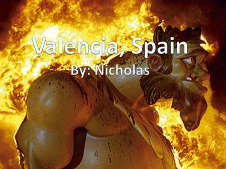 Location Valencia sits on the Mediterranean Coast. It is on the Eastern side of Spain.