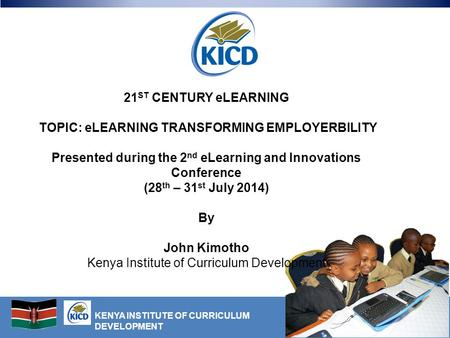 21ST CENTURY eLEARNING By