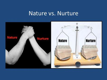 heredity nature versus nurture and development What is the difference between nature and nurture  nurture has nothing to do with heredity and  coming from engineering cum human resource development.