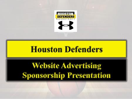 The Mission of the Houston Defenders Program is to cultivate and inspire young men through their participation in basketball to excel both academically.