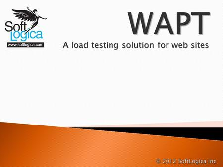 A load testing solution for web sites. In short, it is a simulation of multiple users visiting a web site at the same time and working with it concurrently.