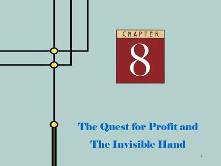 1 The Quest for Profit and The Invisible Hand. 2 Adam Smith  Self-interest moves the economy  Consumers seek to maximize utility from purchases  Firms.