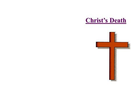 Christ's Death 3rd Heaven - Human Spirit (Luke 23:46, John 19:30)