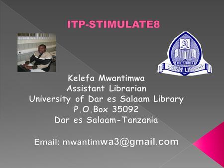  Elementary statistics for library service and information management  Publishing on the web using HTML and XML  Applied network theory and citation.