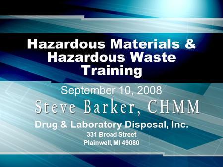 hazardous waste rules 2008 pdf