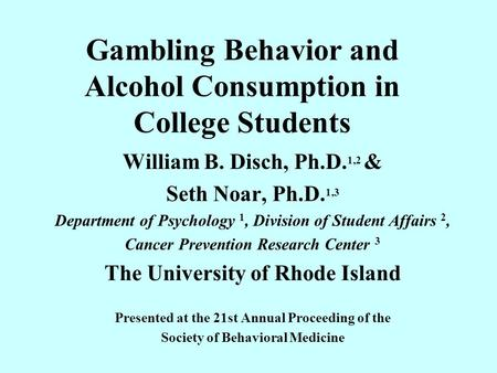 an analysis of the alcohol consumption in the colleges Alcohol consumption among college students data analysis alcohol consumption on college campuses.